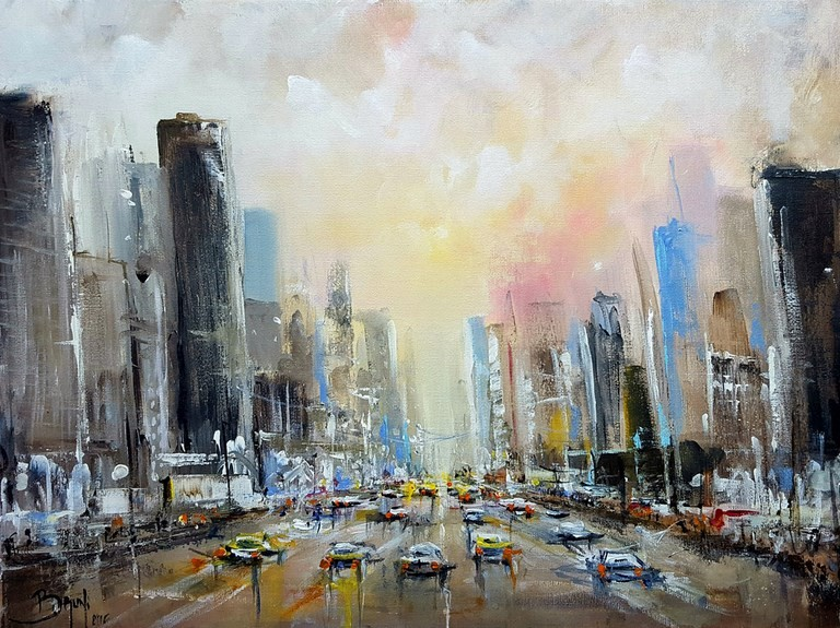 New York Traffic - Eric Bruni