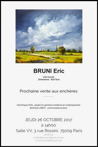 Vente tableaux Bruni - Bertrand Jabot
