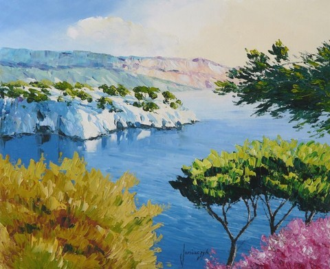 Jean-Marc Janiaczyk's new website, french landscape painter.