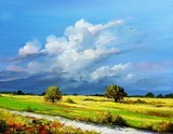 Copyright Bruni Eric. Landscape of the countryside